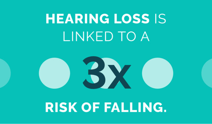 Hearing Loss Can Increase Risk of Falling.