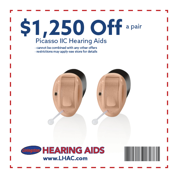 <h3>$1,250 OFF A<br /> PAIR OF PICASSO IIC</h3>